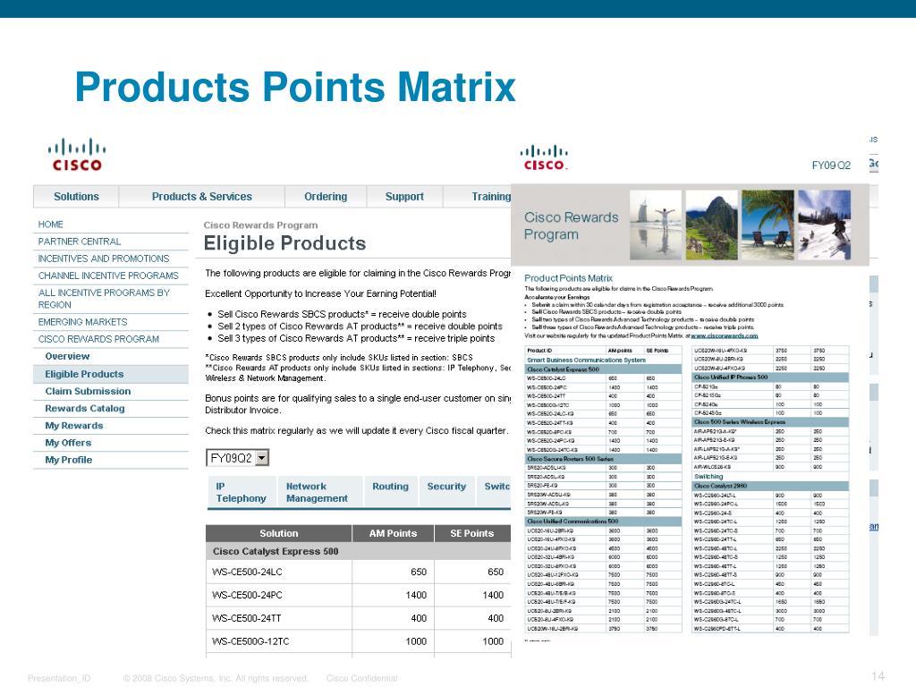 PPT - Cisco Rewards Program PowerPoint Presentation - ID:3342147