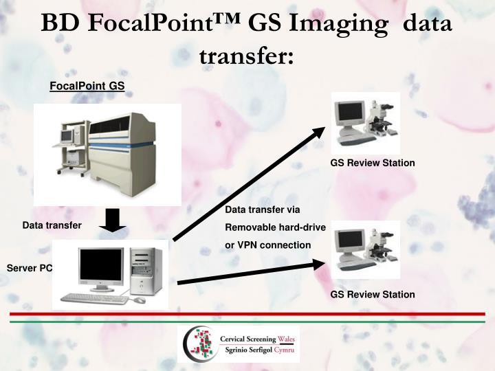 BD FocalPoint™ GS Imaging  data transfer: