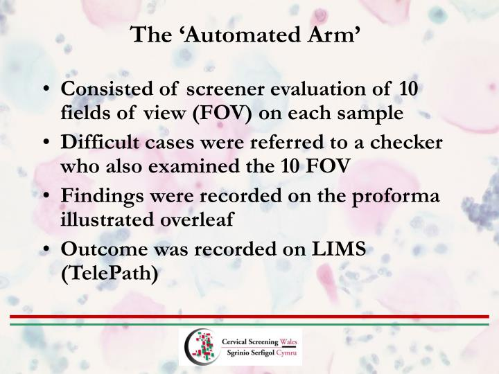 The 'Automated Arm'