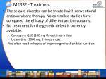 merrf treatment
