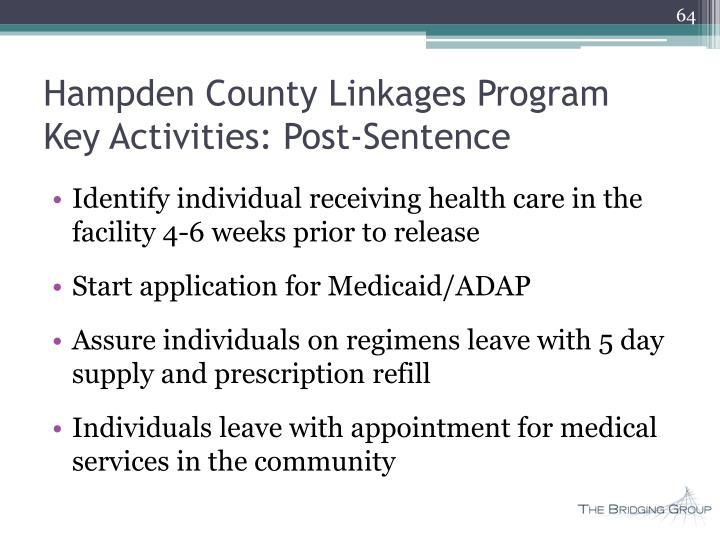 Hampden County Linkages Program