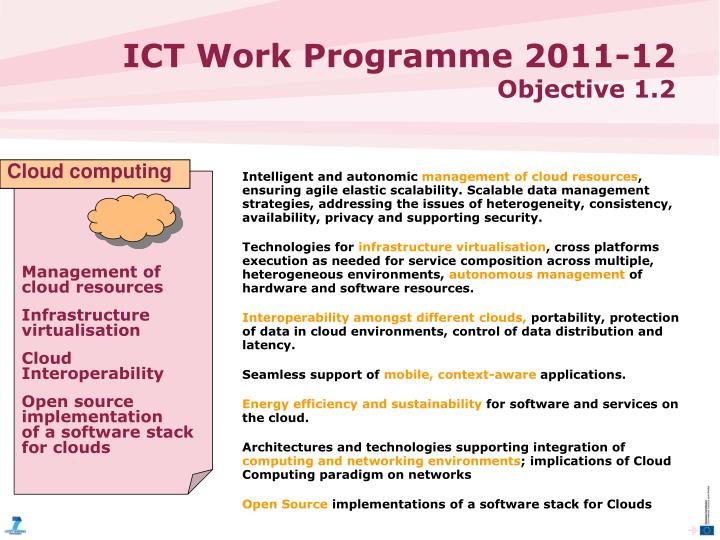 Ict work programme 2011 12 objective 1 21