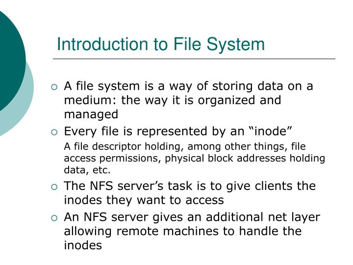 Introduction to File System