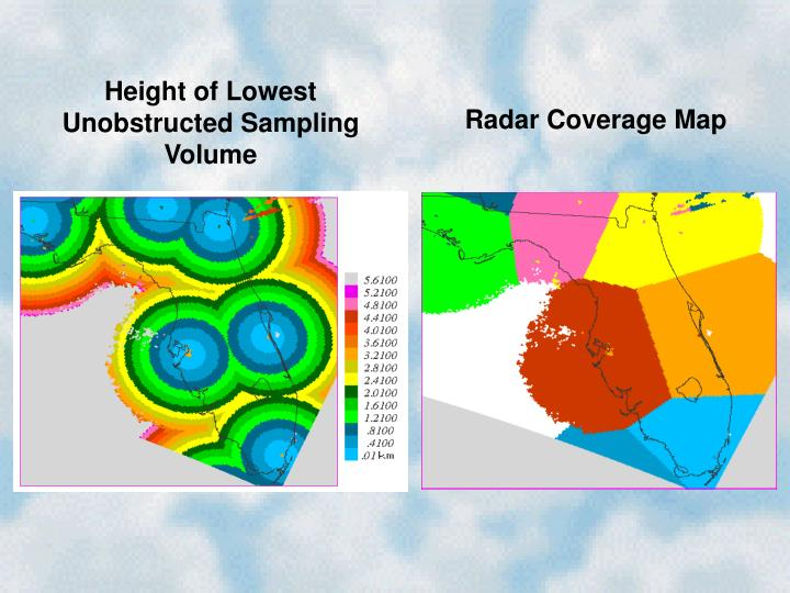 Height of Lowest Unobstructed Sampling Volume