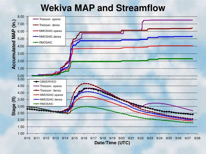 Wekiva MAP and Streamflow