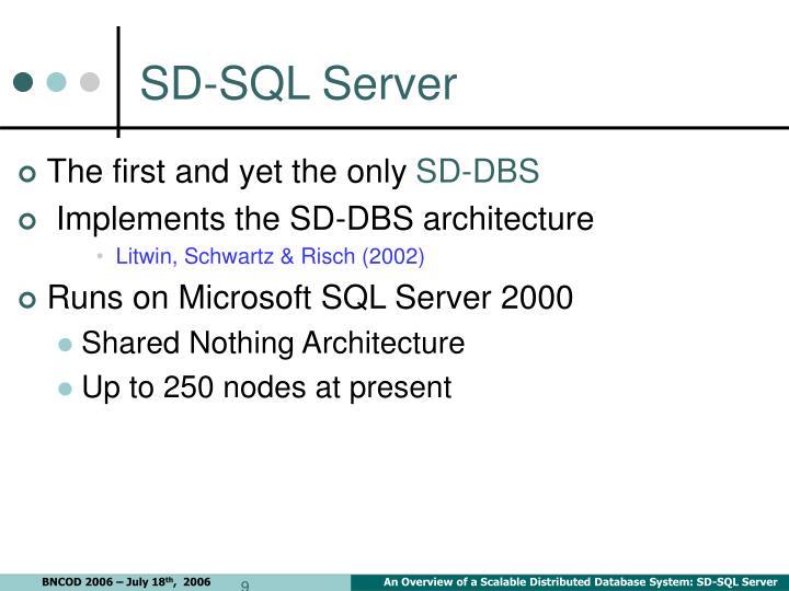 SD-SQL Server