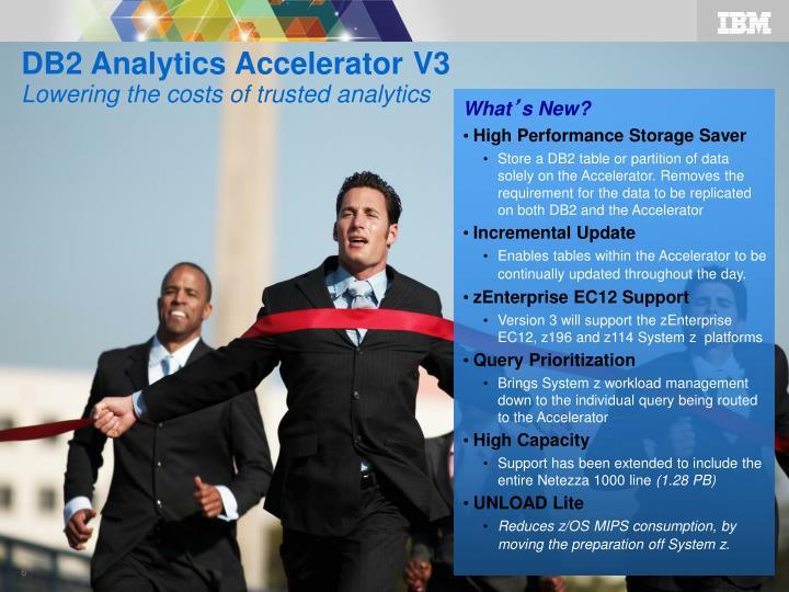 DB2 Analytics Accelerator