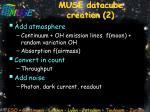muse datacube creation 2