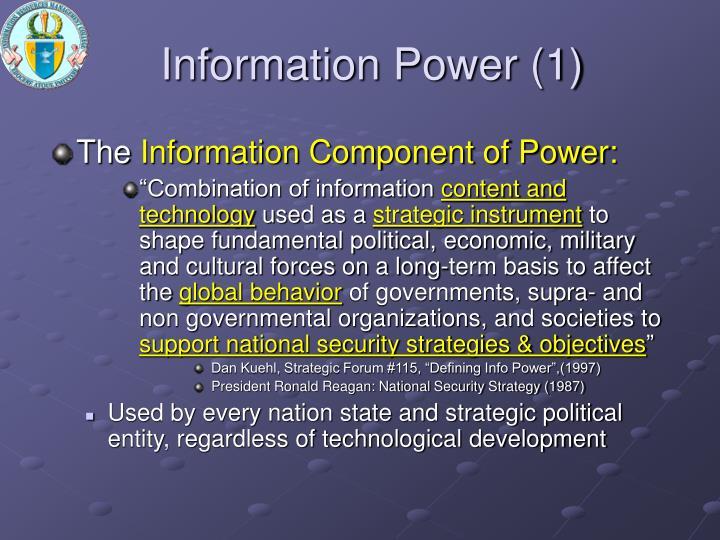 Information Power (1)