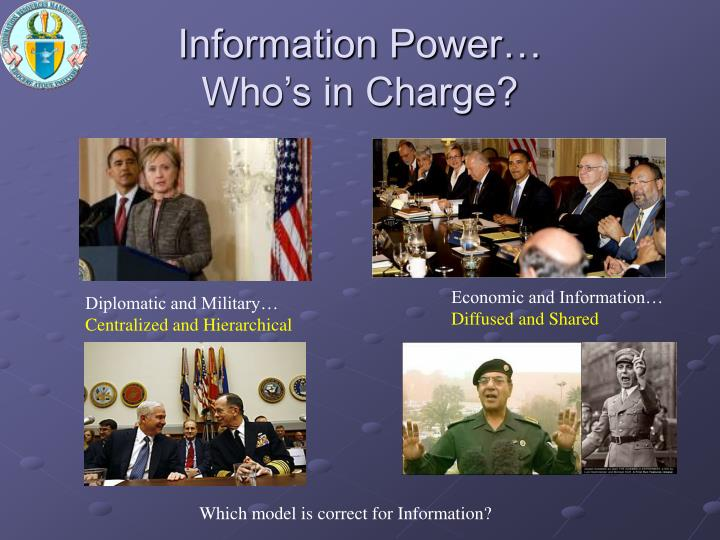 Information Power…