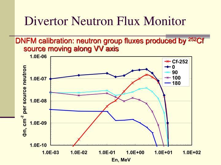 Divertor Neutron Flux Monitor