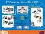 xds scenario use of pix pdq