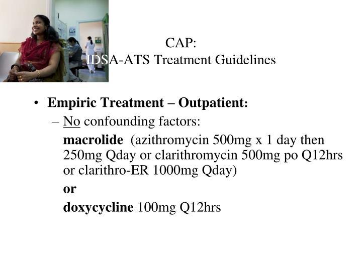 Empiric Treatment – Outpatient
