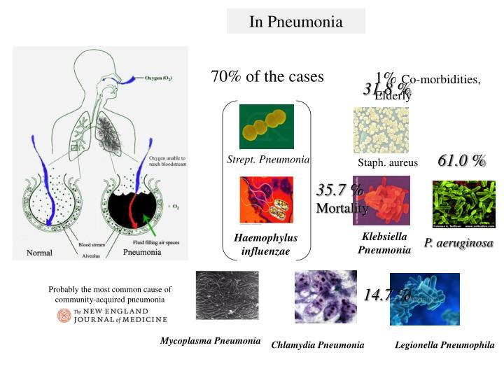 In Pneumonia