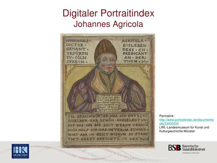 Digitaler Portraitindex