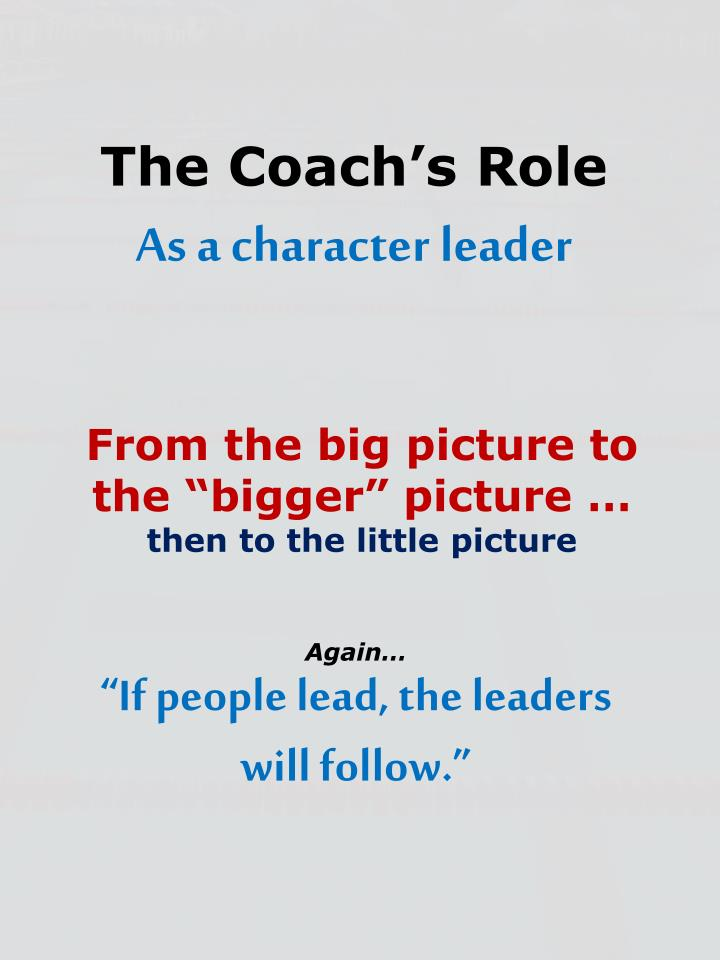 """From the big picture to the """"bigger"""" picture …"""