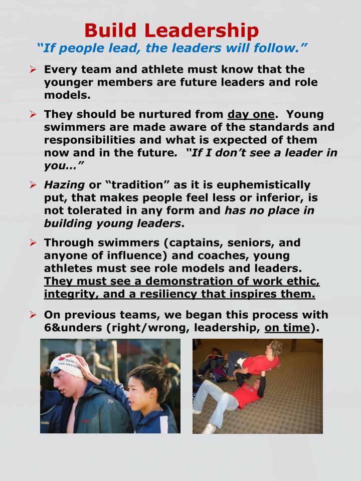 Build Leadership