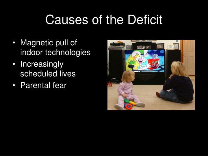 Causes of the Deficit