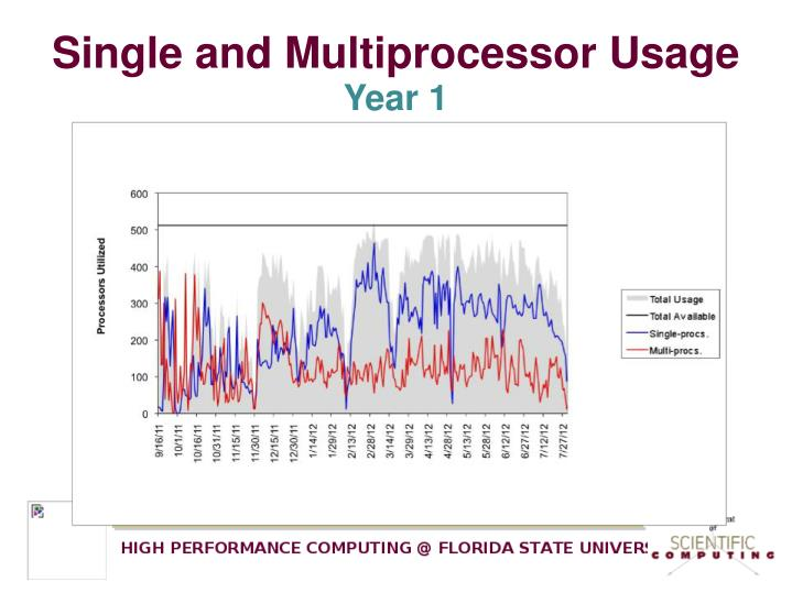 Single and Multiprocessor Usage