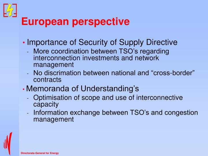 European perspective