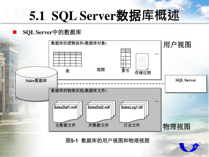 5 1 sql server