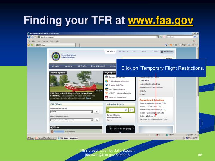 Finding your TFR at