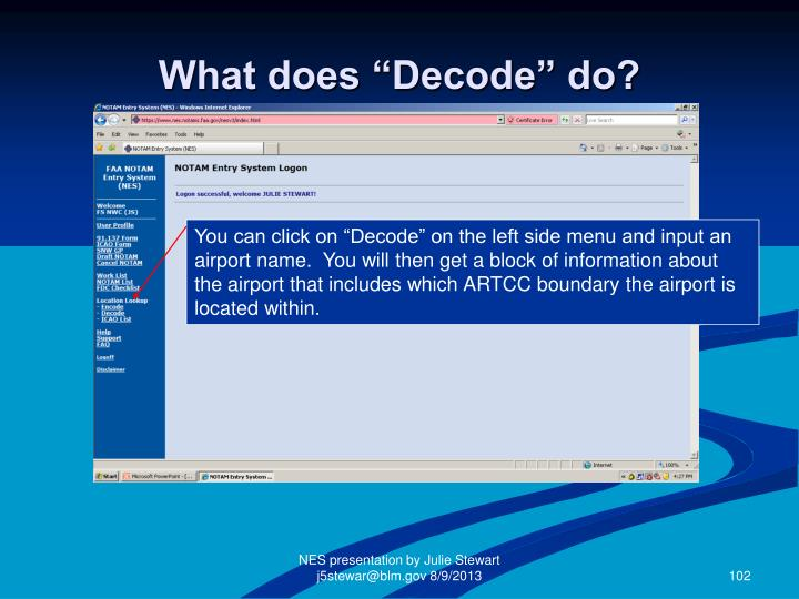 """What does """"Decode"""" do?"""