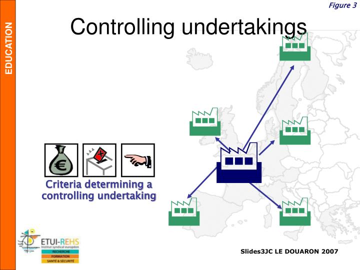 Controlling undertakings