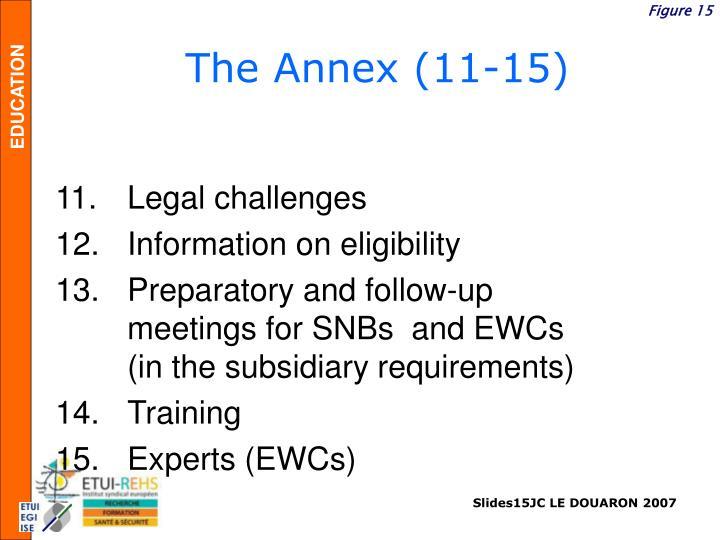 The Annex (11-15)