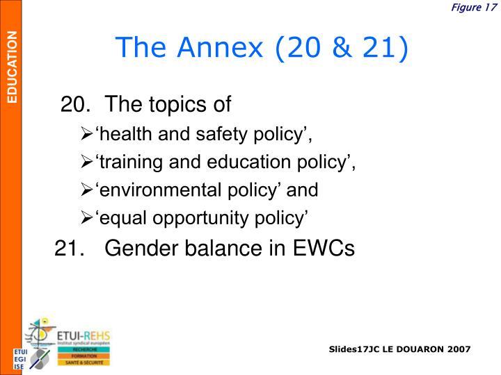 The Annex (20 & 21)