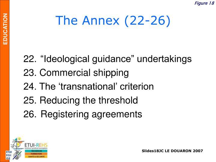 The Annex (22-26)