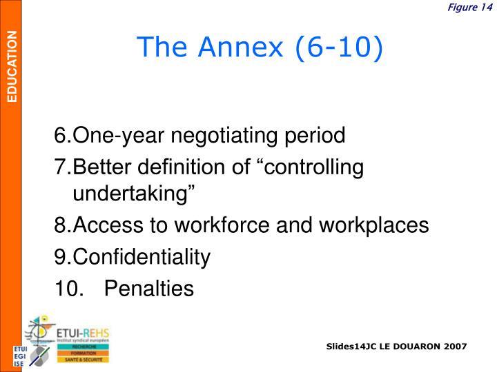 The Annex (6-10)