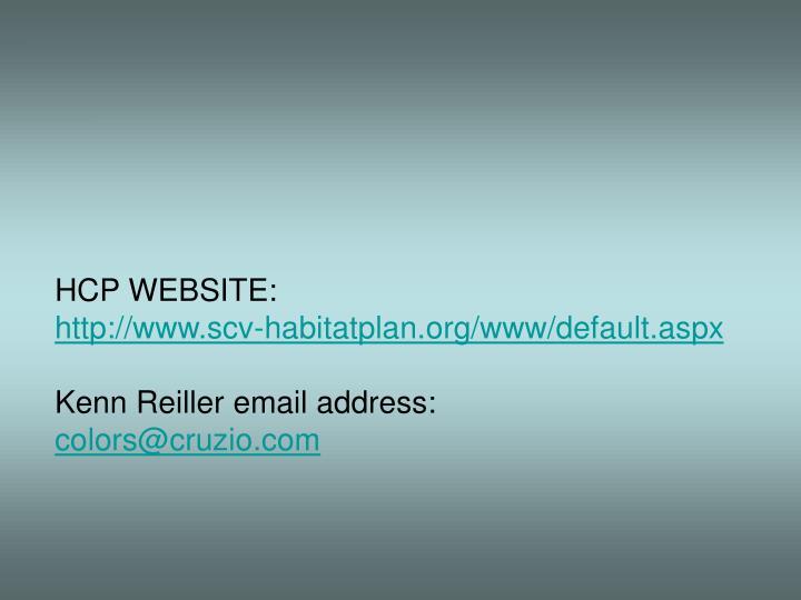 HCP WEBSITE: