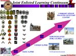 joint enlisted learning continuum