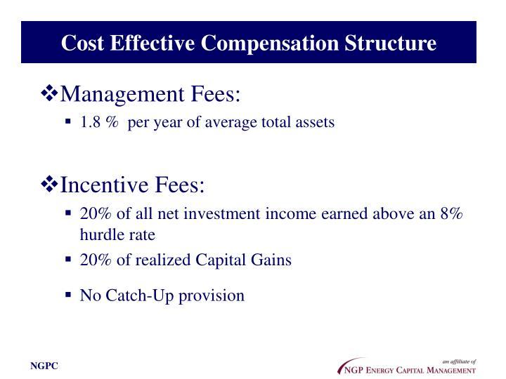 Cost Effective Compensation Structure