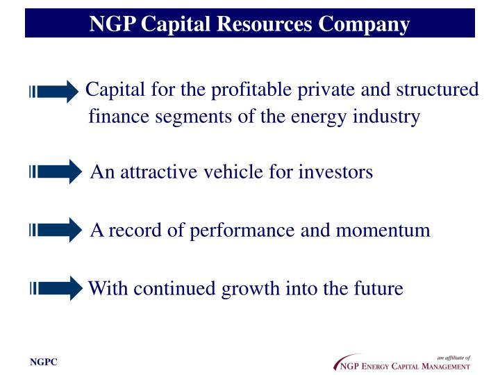 NGP Capital Resources Company