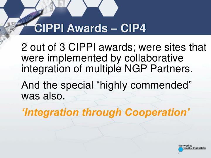 CIPPI Awards – CIP4