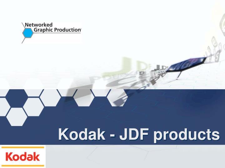 Kodak - JDF products
