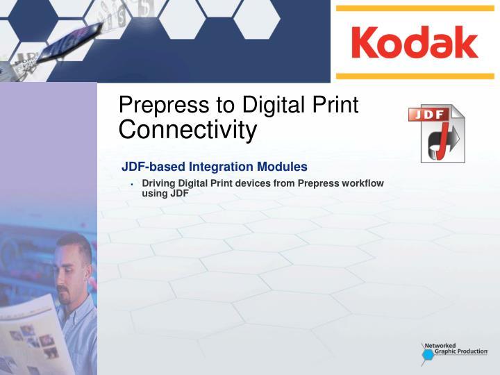 Prepress to Digital Print