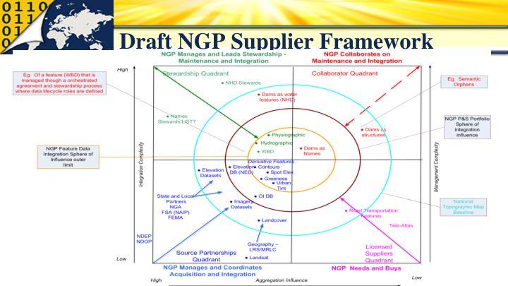 Draft NGP Supplier Framework
