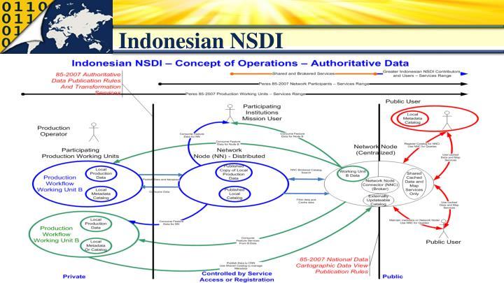 Indonesian NSDI