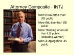 attorney composite intj