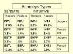 attorneys types