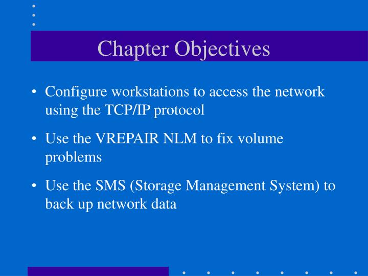Chapter objectives1