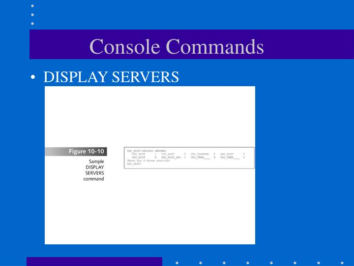 Console Commands