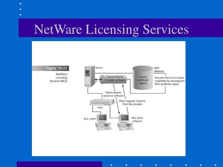 NetWare Licensing Services