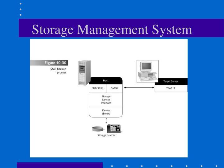 Storage Management System