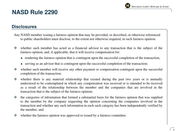 Nasd rule 22901