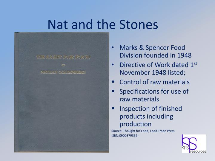Nat and the stones