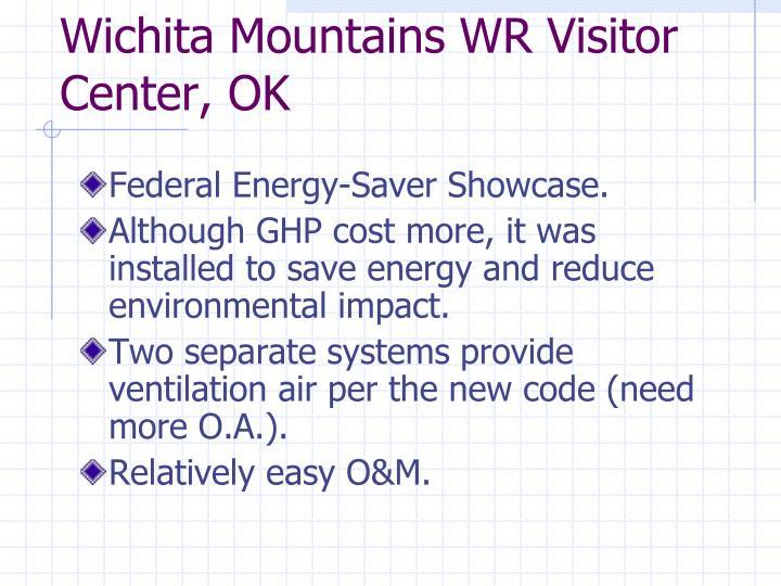 Wichita Mountains WR Visitor Center, OK